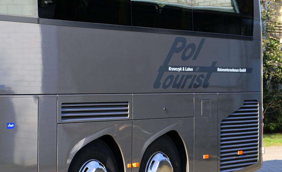 Busbeschriftung - Fahrzeugbeschriftung