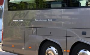 Busbeschriftung Mercedes