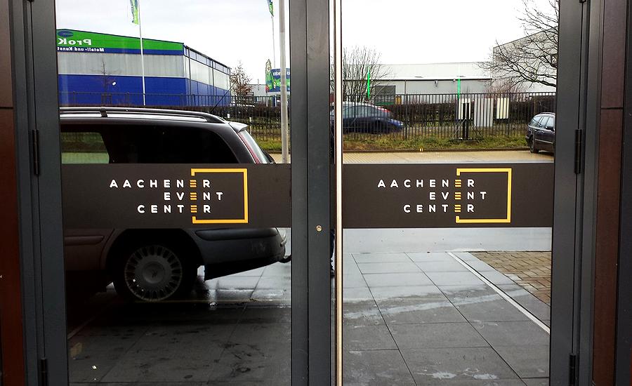 Schaufensterbeschriftung Aachen